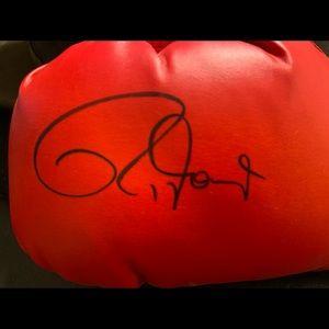 Autographed Roy Jones Jr boxing glove! Authentic
